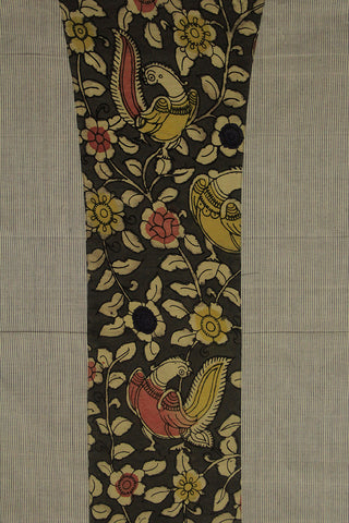 Handwoven Fabric with Hand Painted Kalamkari