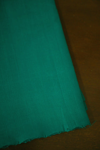 Green Mangalagiri Cotton Fabric