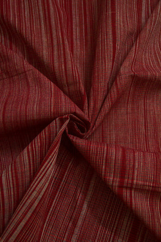 Random Stripes Handwoven Cotton Fabric