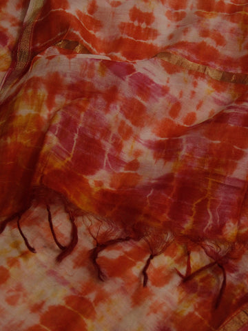 Sun Kiss - Tie & Dye Silk Cotton Stole