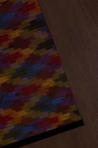 Colour Pixels Handwoven Ikat Fabric