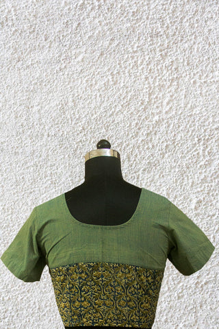 Light Green Stitched Blouse - 36, 38 & 40