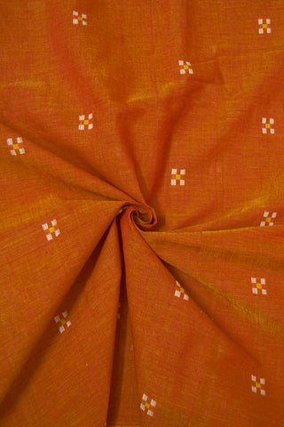Double Shaded dobby butta Handwoven Cotton Fabric