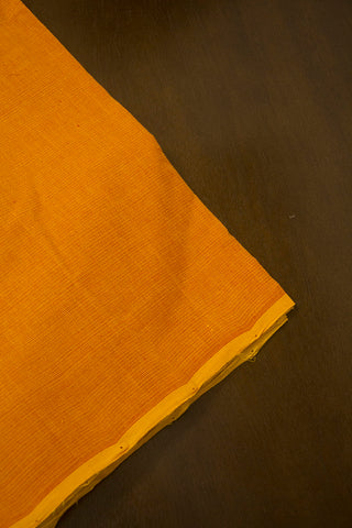 Fenugreek Yellow Handwoven Cotton Fabric