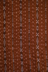 Shades of Brown Orissa Ikat Cotton Fabric