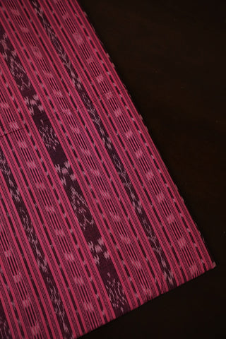 Creamy Pink Orissa Ikat Cotton Fabric