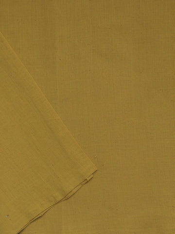 Mustard Beige Handwoven Cotton Fabric