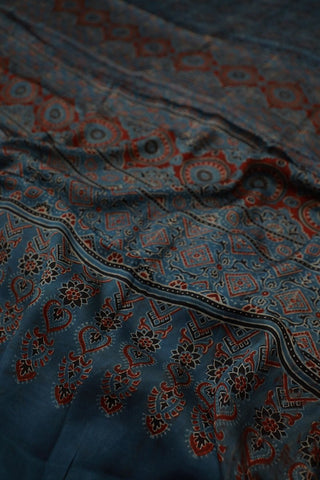 Block Printed Saree - Matkatus