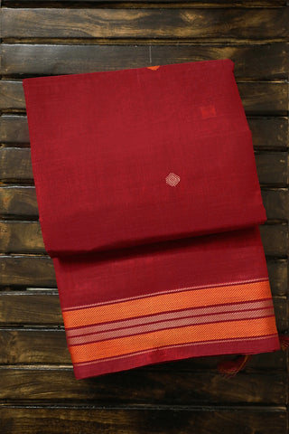 Urmul Inspired Pallu Kanchi Cotton Saree