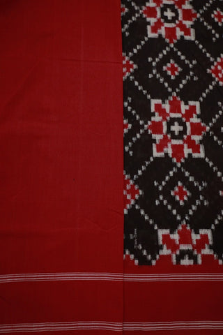 Ikat cotton saree - Matkatus