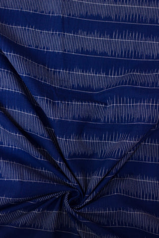 Blue Fine stripes handwoven Ikat Fabric