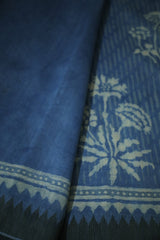 Gicha Border Chanderi Saree