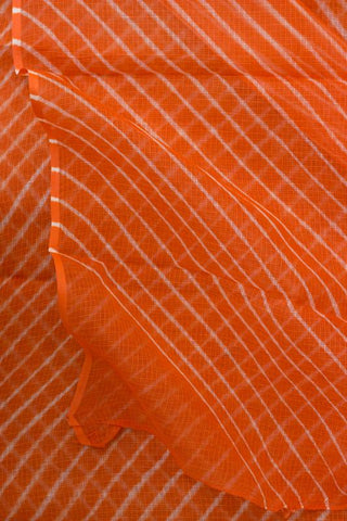 Orange Leheriya Saree