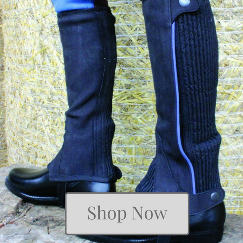 Young Equestrian Footwear & Chaps