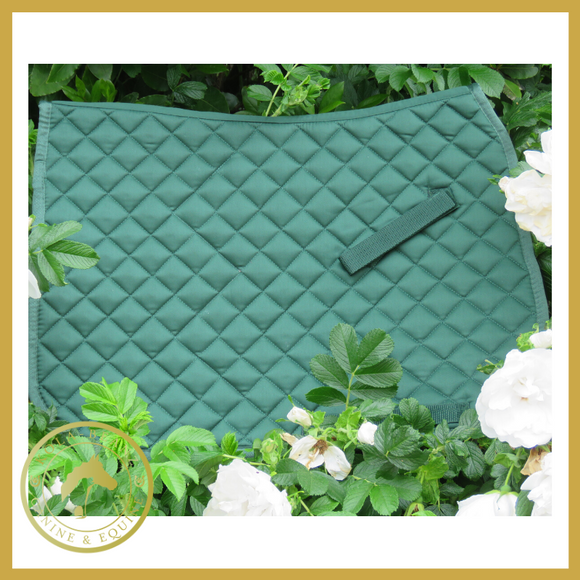 Celtic Equine Green Saddle Pad - Saddlecloths Saddle Pads