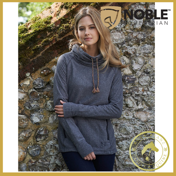 Noble Outfitters Cozy Cowl - Charcoal - Ladies Jumpers