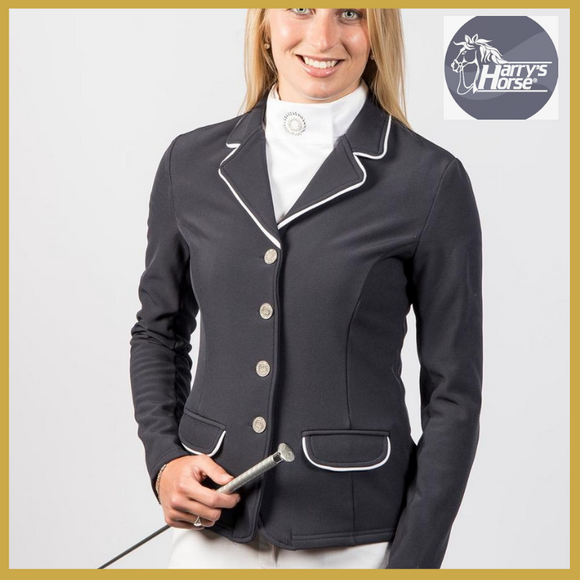 Harrys Horse Navy Soft-Shell Show Jacket - Show Jacket