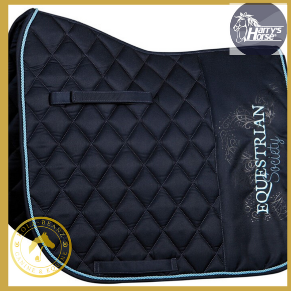 Harrys Horse Luxury Vz Blueberry Saddle Pad - Saddlecloths Saddle Pads