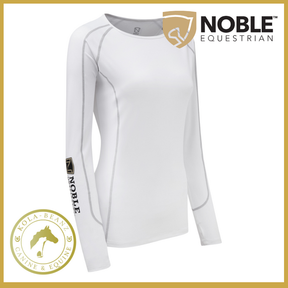 Noble Outfitters Team Hailey Baselayer - White - Ladies Baselayers