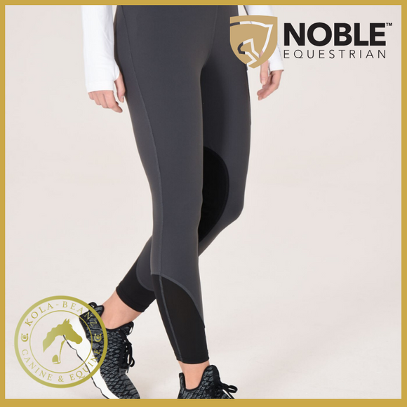 Noble Outfitters Balance Riding Tight Asphalt - Ladies Riding Tights