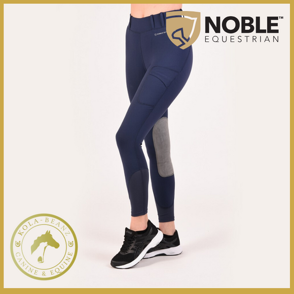 Noble Outfitters Balance Riding Tight Navy - Ladies Riding Tights