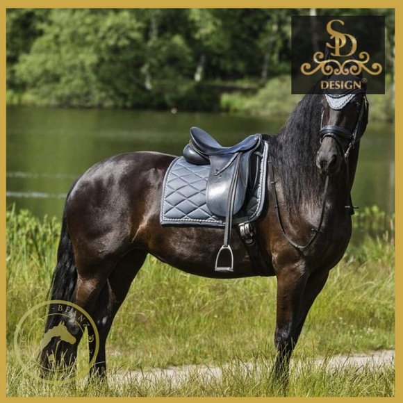 Sd® Classic Saddle Pad - Silvershade - Saddlecloths Saddle Pads