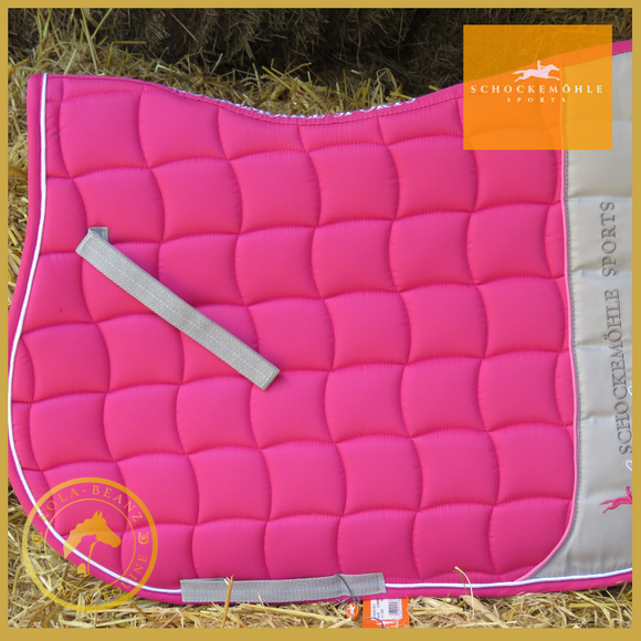 Schockemohle Action Pad S Style Raspberry - Saddlecloths Saddle Pads