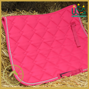 Usg Pink Quilted Saddle Cloth - Saddlecloths