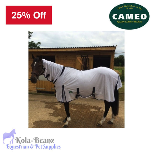 Cameo Fly Rug with Neck - Fly Rug