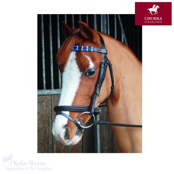 Chukka Leather Browband - Browband