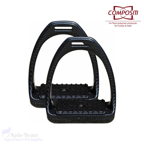 Compositi Reflex Stirrups - Carbon Look - Stirrups