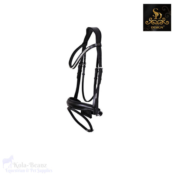 Crown Cantolar Bridle - Black/black - Anatomic Bridles