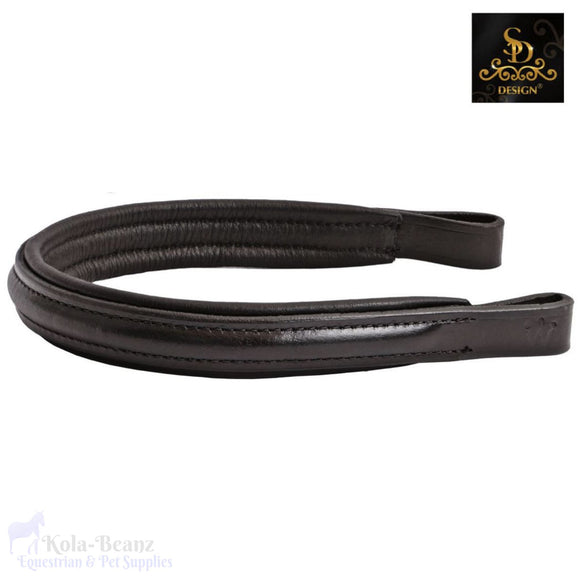 Crown Carmiro Browband - Black - Browband