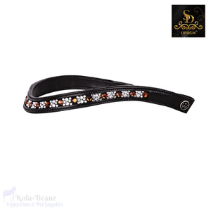 Crown De Luxe Smoked Topaz Browband - Black - Browband