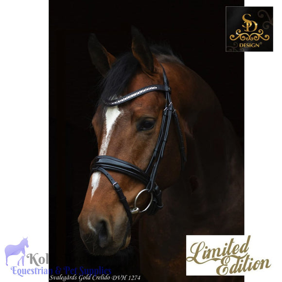 Crown Magic Touch Bridle - Black/Patent - Anatomic Bridles