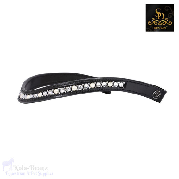 Crown Meistro Browband - Black - Browband