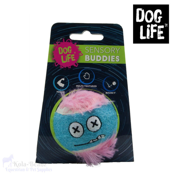 Dogs Life Sensory Buddies Neon Ball - Tennis Ball