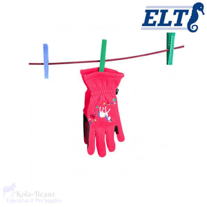 Elt Unicorn Gloves - Young Equestrian - Kids Gloves