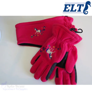 Elt Unicorn Winter Set - Young Equestrian - Kids Headbands