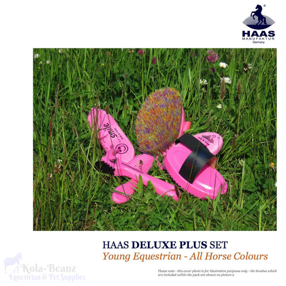 Haas Deluxe Plus Young Equestrian Grooming Kit - Haas Grooming Products