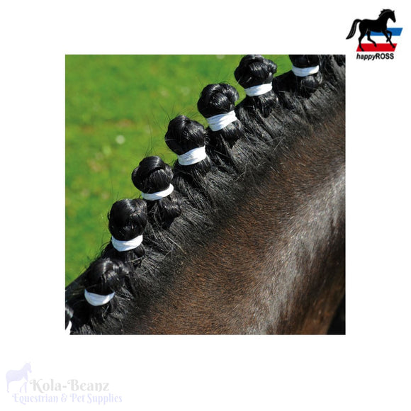 Happyross Horse Braiding Bands - 500 Pieces - Braiding Bands