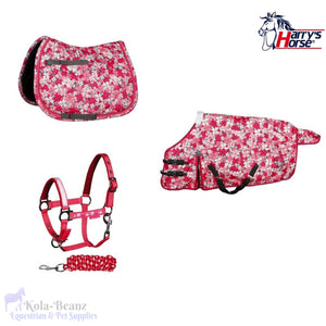 Harrys Horse 3 Piece Matching Set - Pink - Matchy Matchy