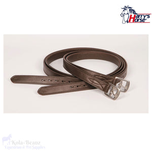 Harrys Horse Brown Stirrup Leathers - Stirrup Leathers