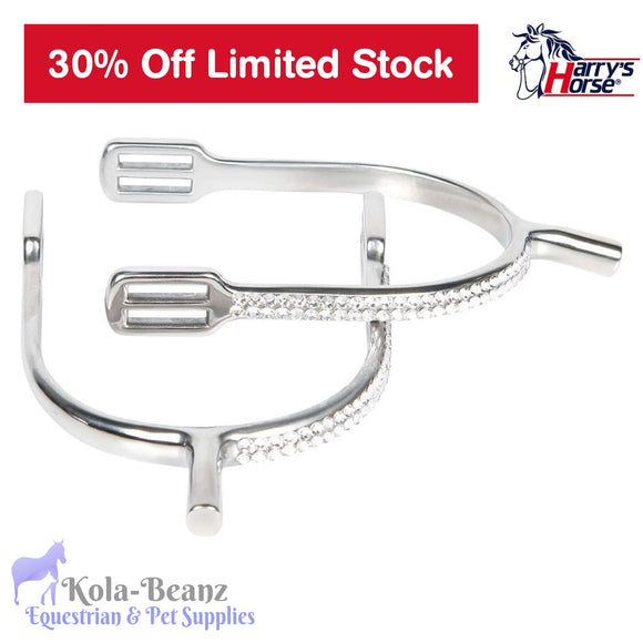 Harrys Horse Crystal Spur Set - Spur