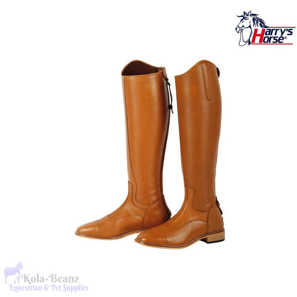 Harrys Horse Elite Cognac Riding Boots - Wide - Riding Boot