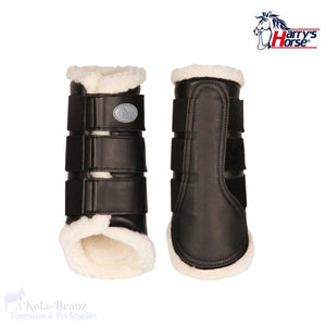 Harrys Horse Flextrainer Protection Boots - Black - Horse Brushing Boots