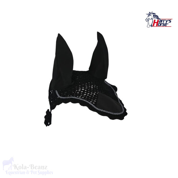 Harrys Horse Fly Veil - Black - Horse Fly Masks
