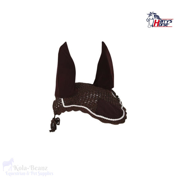 Harrys Horse Fly Veil - Brown - Horse Fly Masks
