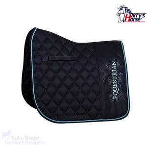 Harrys Horse Luxury Blueberry Dr Saddle Pad - Saddlecloths Pads