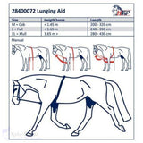 Harrys Horse Luxury Soft Lunging Aid/rein - Horse Lunging Equipment